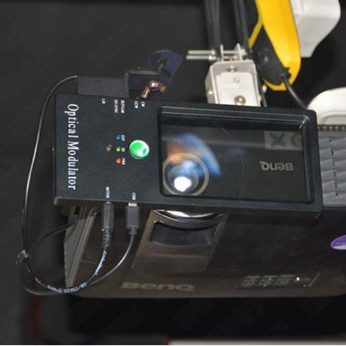 基于明基DLP投影机的单投影机3D立体实现