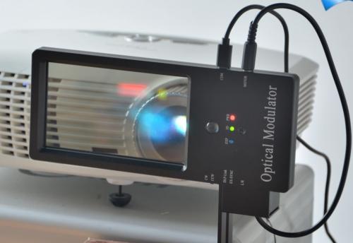 基于奥图码DLP投影机的单投影机3D立体实现YT-PS600H