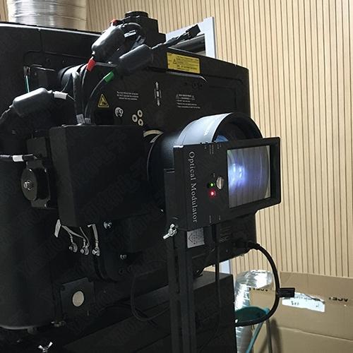 YANTOK科视电影机安装单光路3D系统设备YT-PS600C