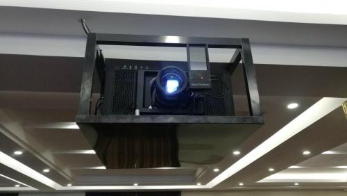 松下工程投影机安装单光路3D设备YT-PS600C