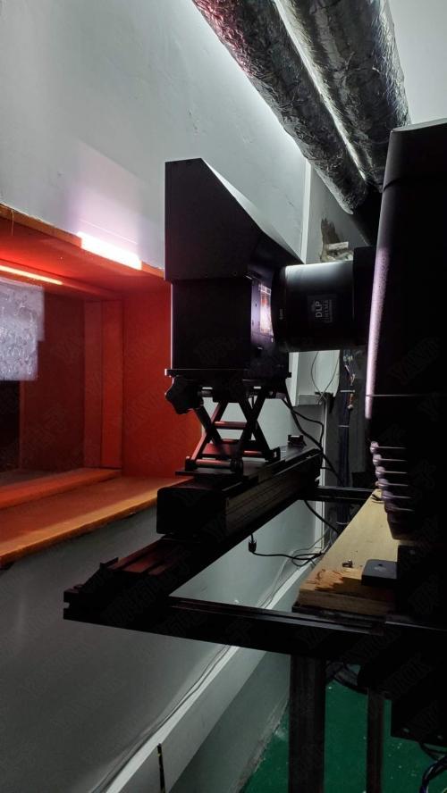YANTOK研拓电子电影院双光路3D设备安装图YT-PS300