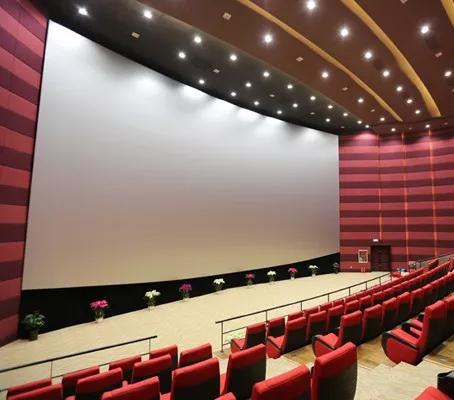 定做电影巨幕,金属透声偏振光3D银幕 电教 工程等各类投影幕布